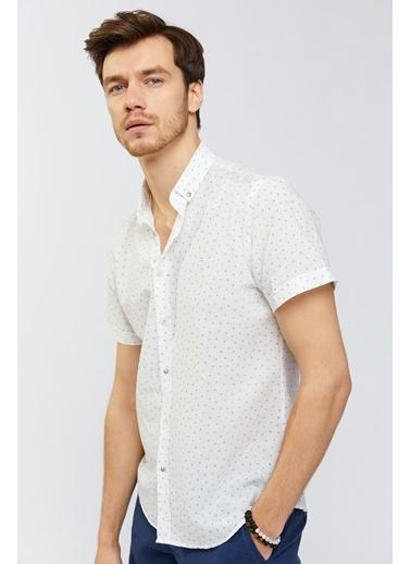 Avva Erkek   Gömlek A91Y2142 Beyaz
